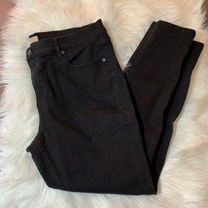 LOFT Black Modern Skinny Jeans Size 16